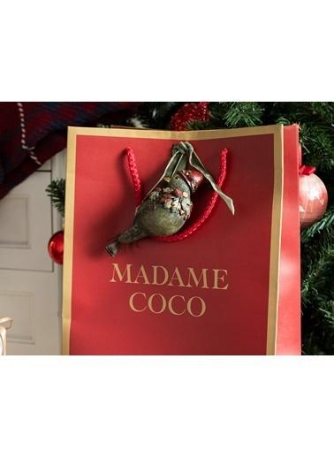 Madame Coco Silvere Ağaç Süsü Renkli